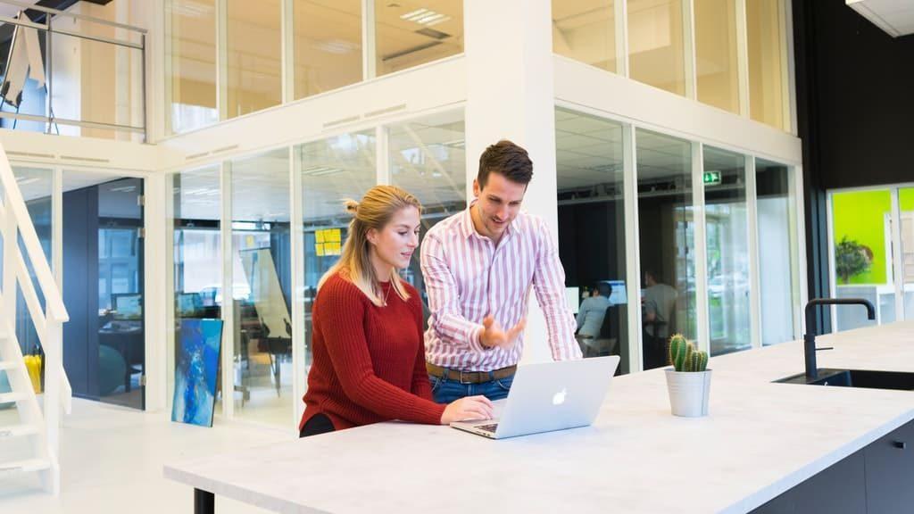 Firma digital en la oficina