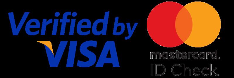 Logos de Visa y Mastercard